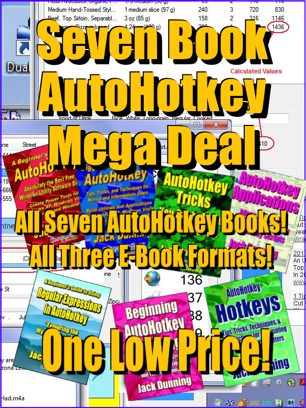 AutoHotkey Library Mega Bundle (EPUB, MOBI, and PDF)