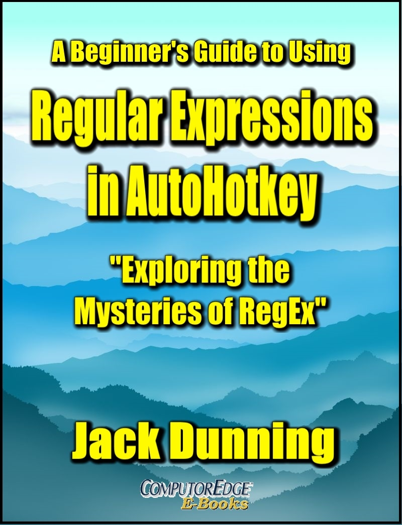 Regular Expressions in AutoHotkey (PDF format for printing)