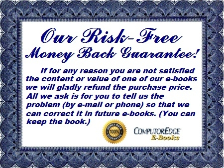 ComputorEdge E-Books Warranty